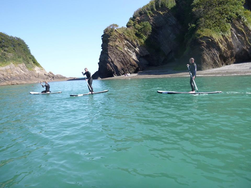 sup lessons north devon
