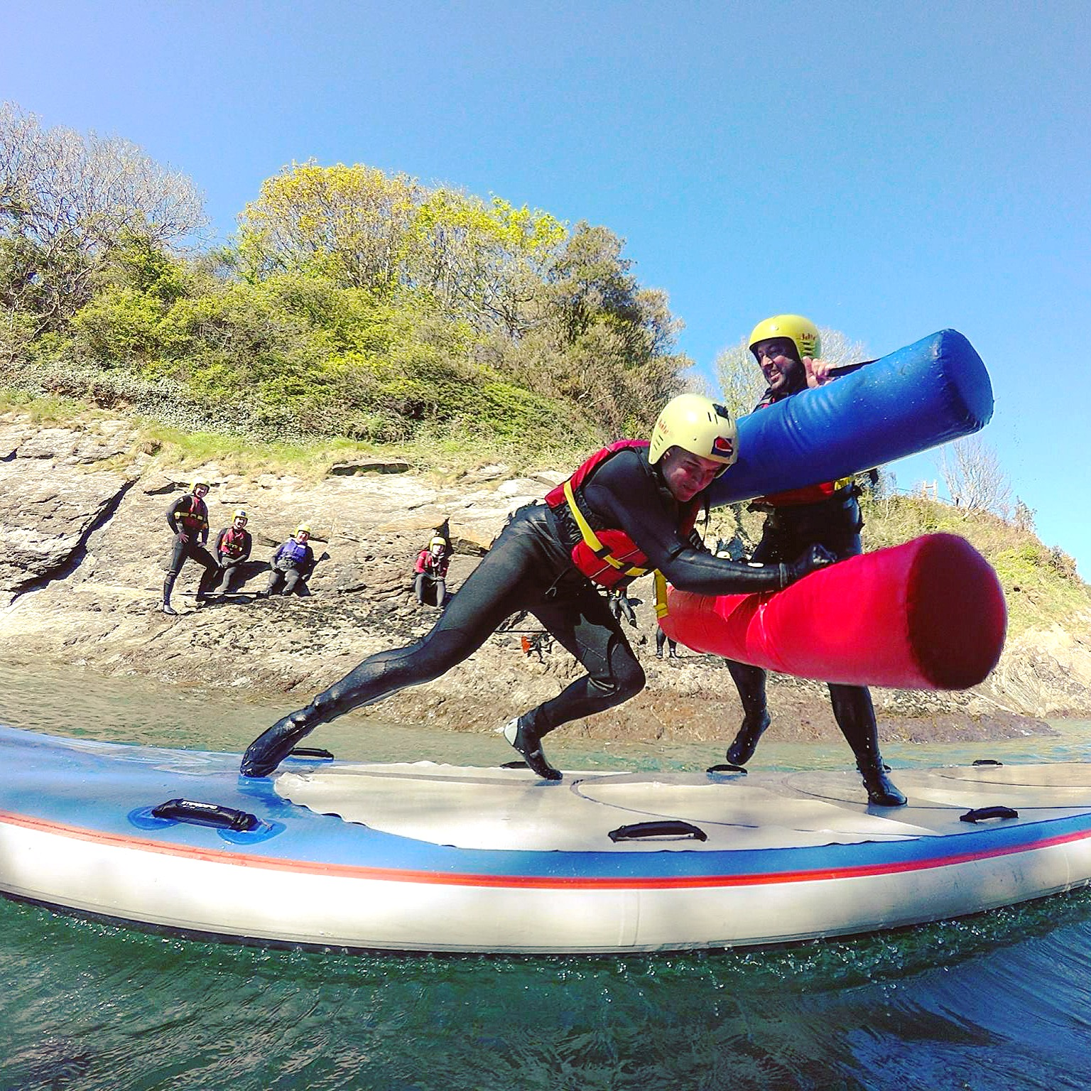 Giant SUP battle