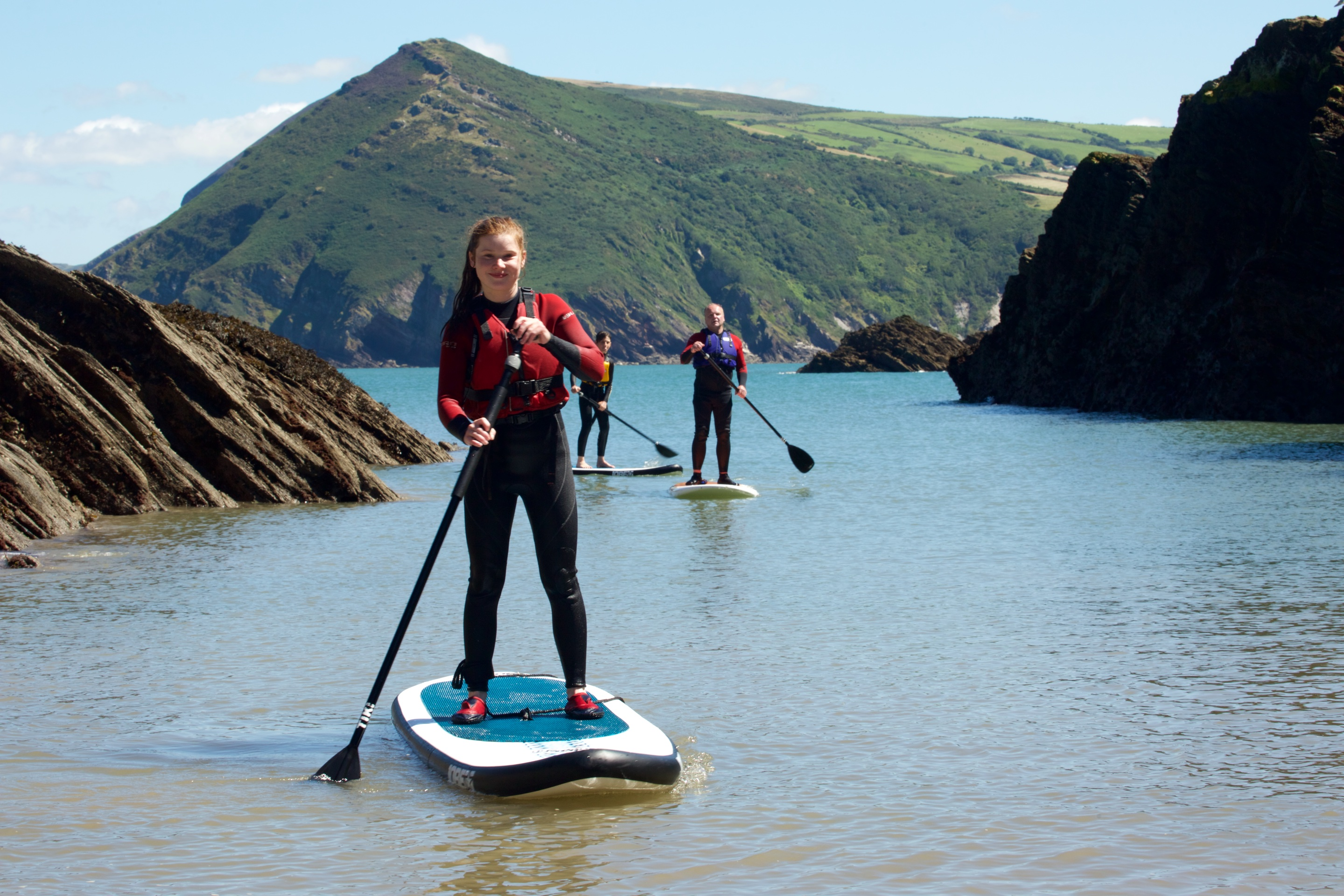stand up paddleboard lessons ilfracombe