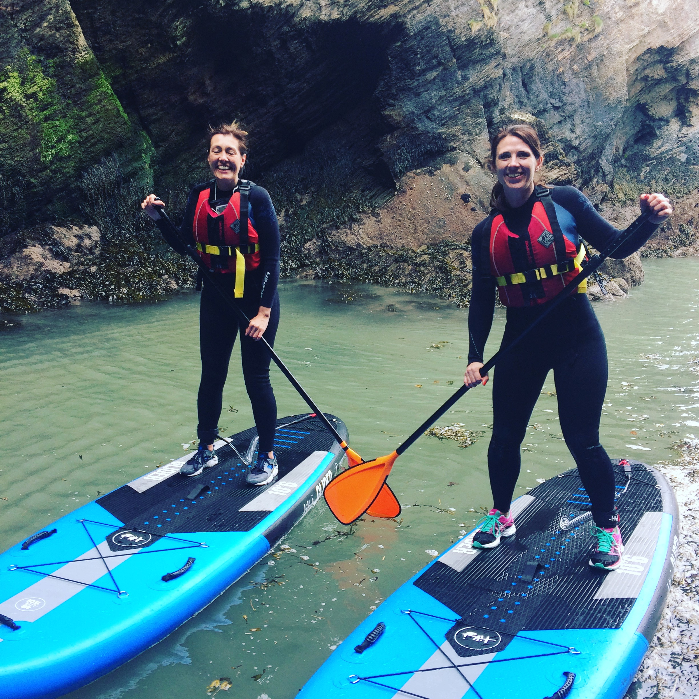 hen party, SUP, stand up paddleboards, surf, watersports, adventure sports