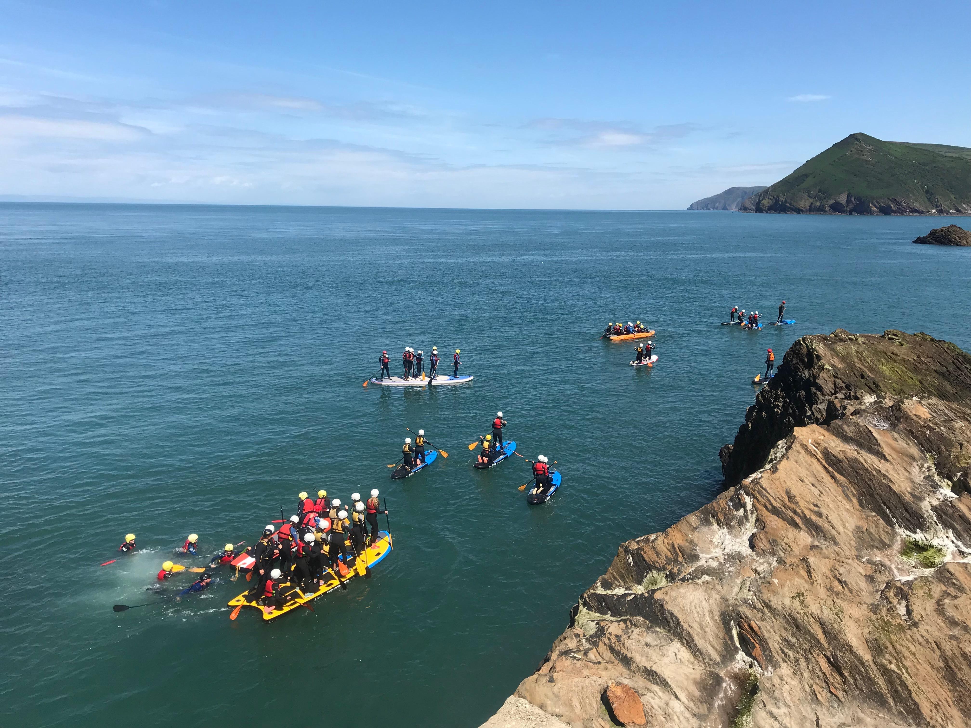 woolacombe, croyde, ilfracombe, paddleboard, NCS, armada, summer