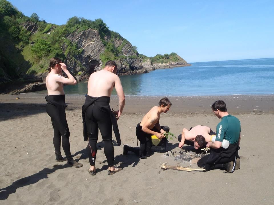 activities north devon, rafting, beach fire, relax, stag do ideas, stag do devon