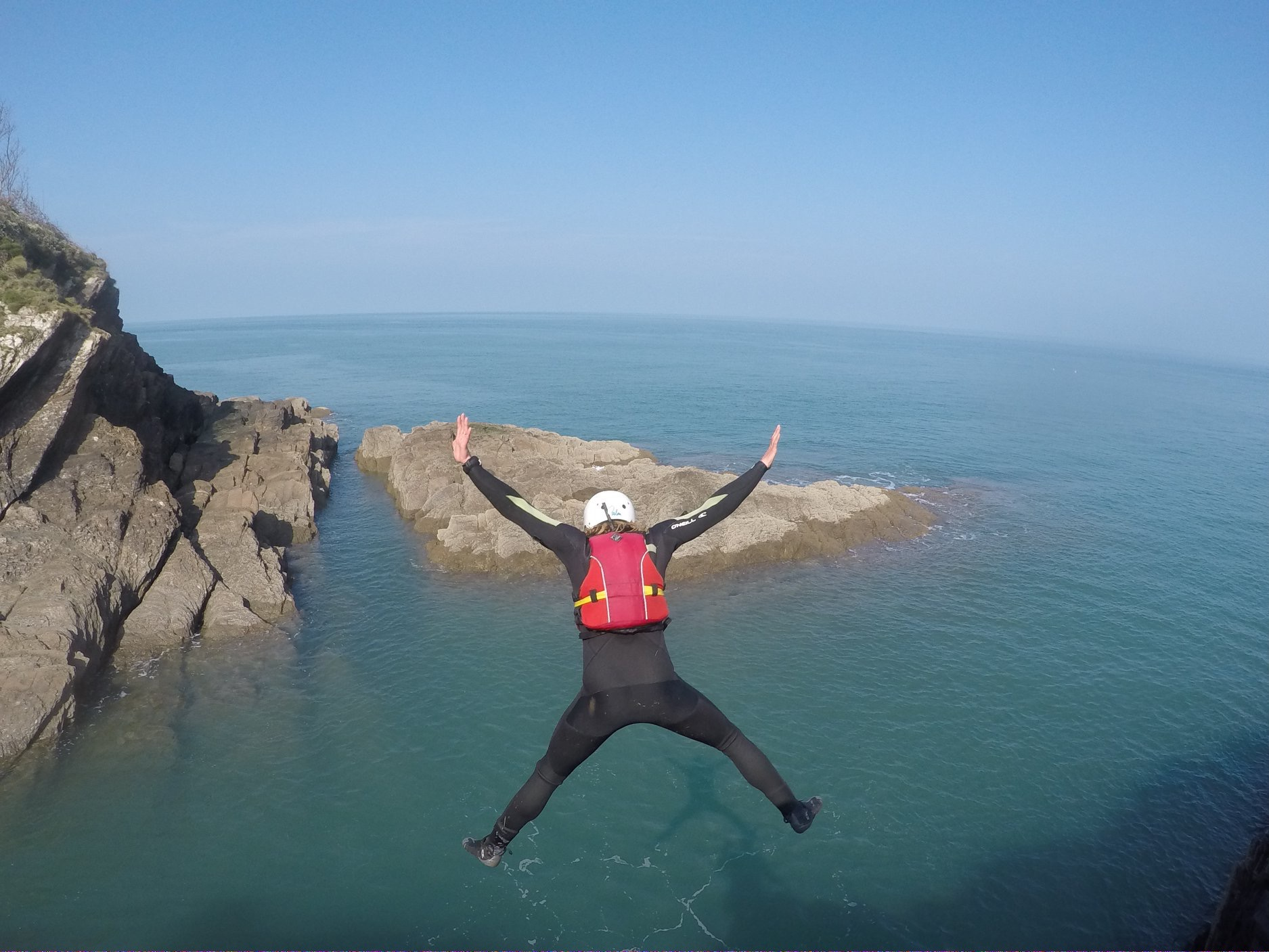 ultimate coasteering centre north devon
