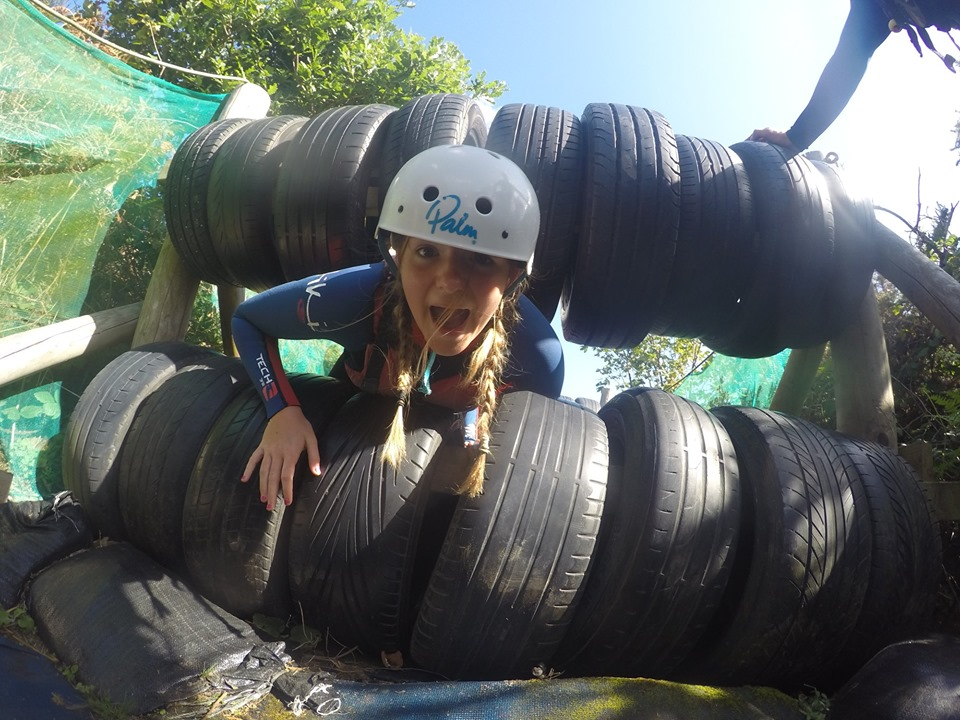 adventure, family, friends, assault course, devon, watersports