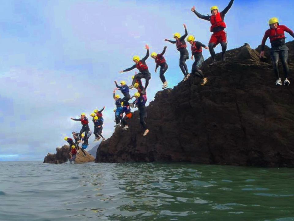 group coasteer north devon