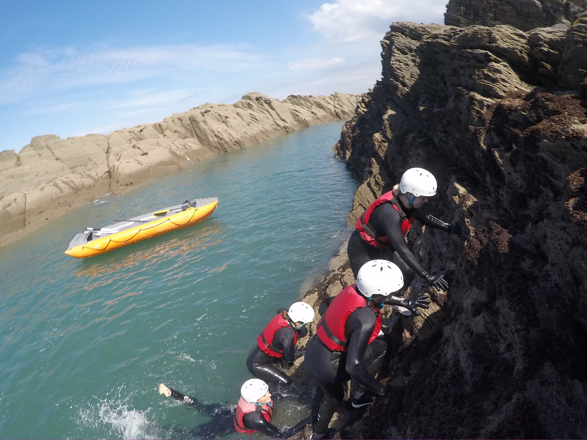 girls day out, hen party, ilfracombe, woolacombe, devon, watersports