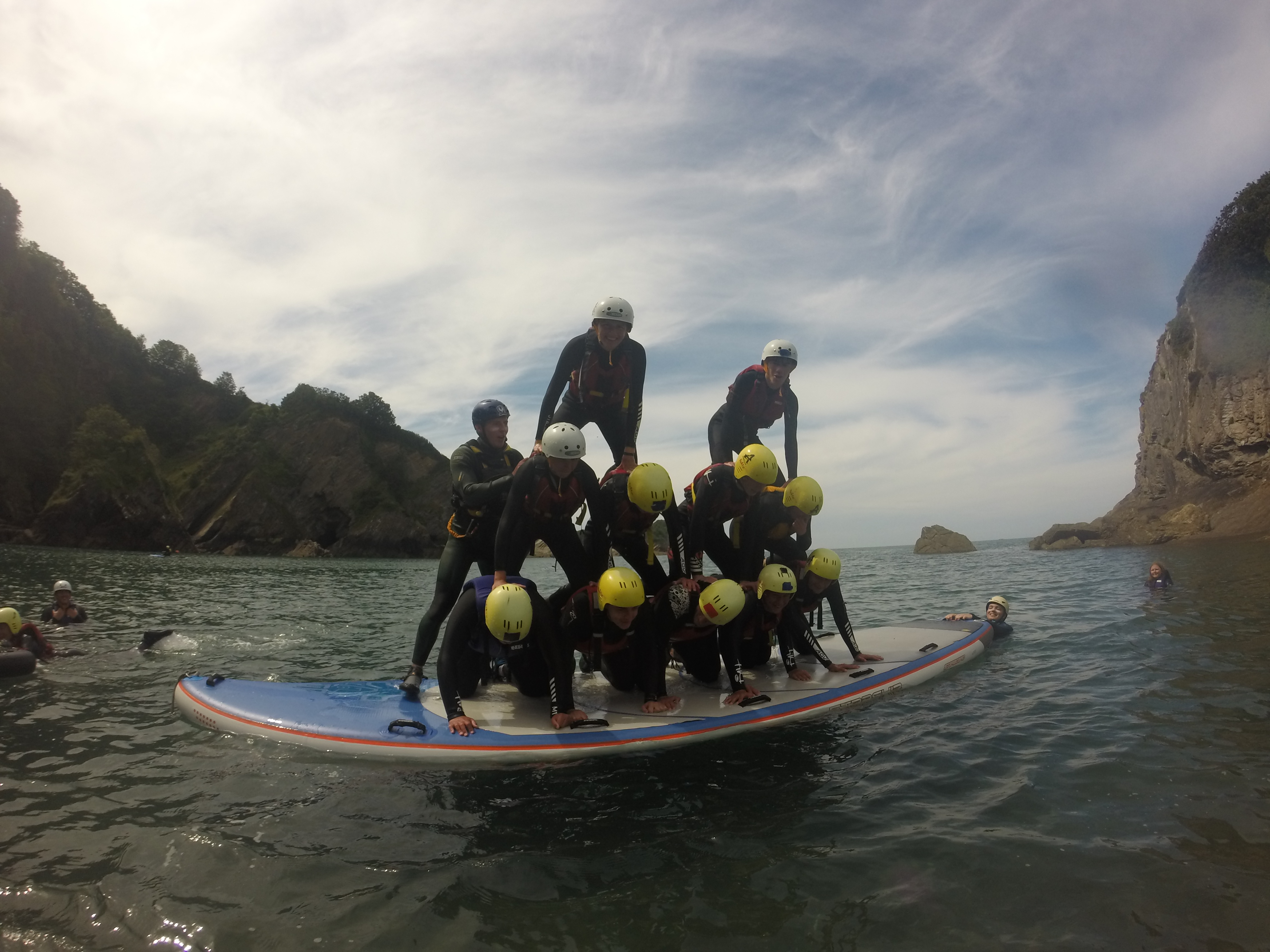 Party Sup north devon standup paddle board