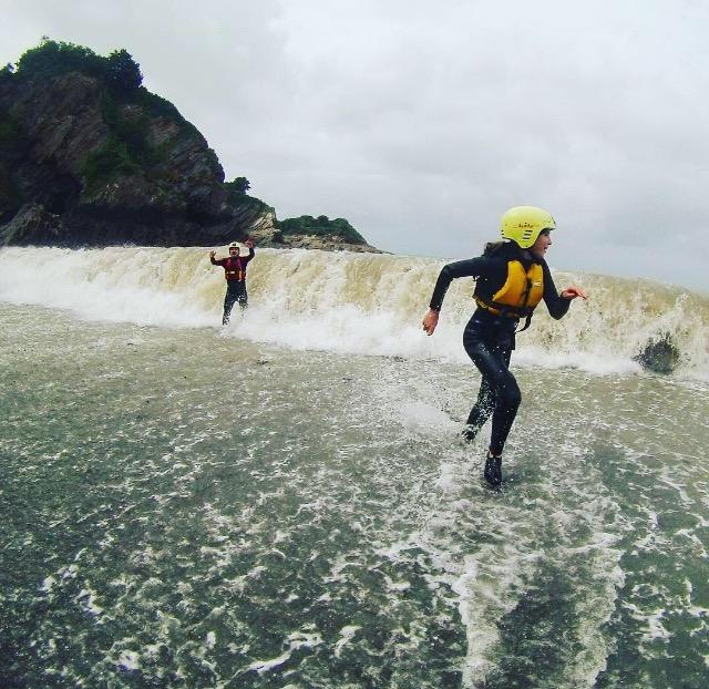 broadsands, beach north devon, activities, adventure