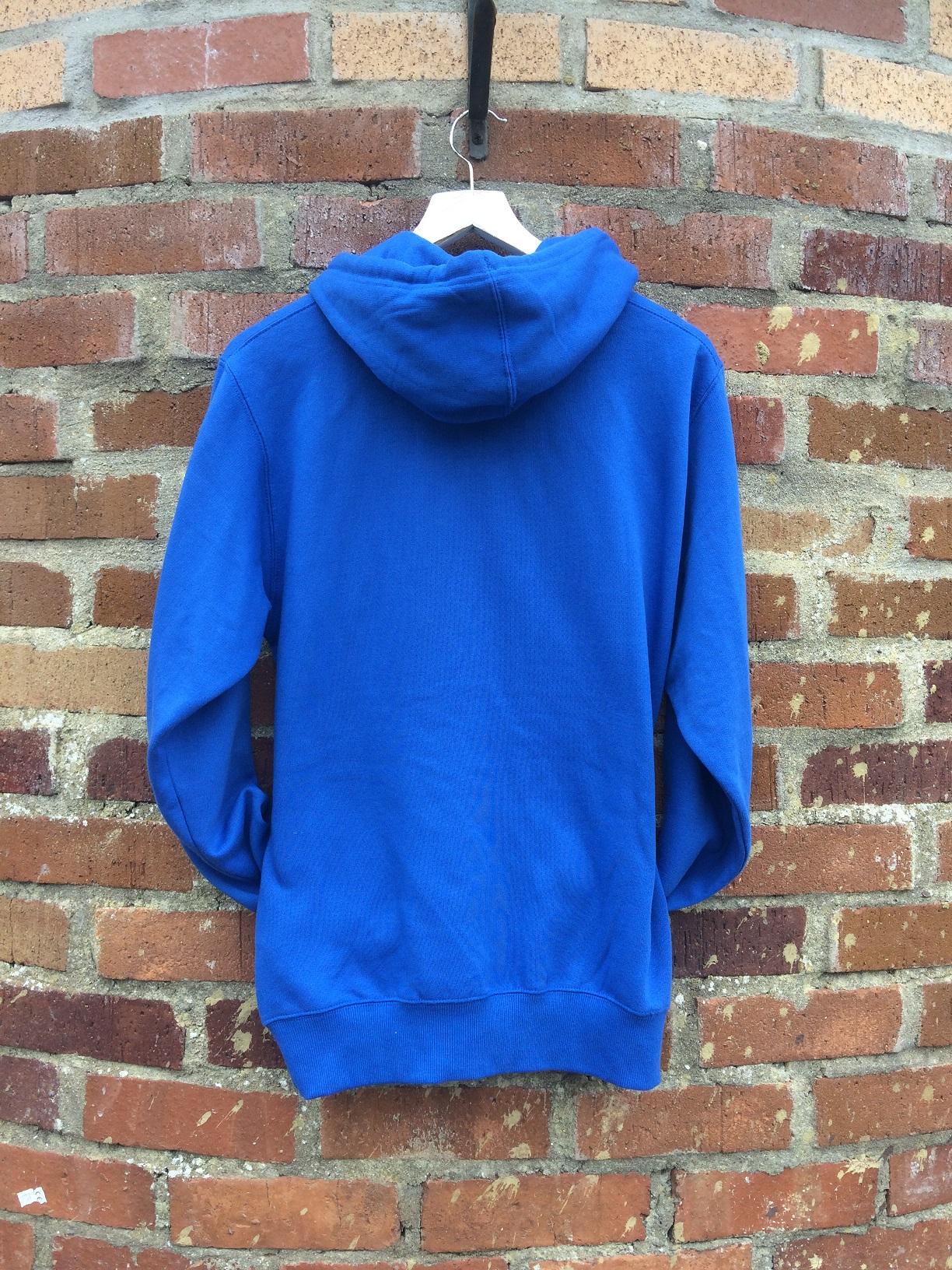 sky blue hoodie back active escape