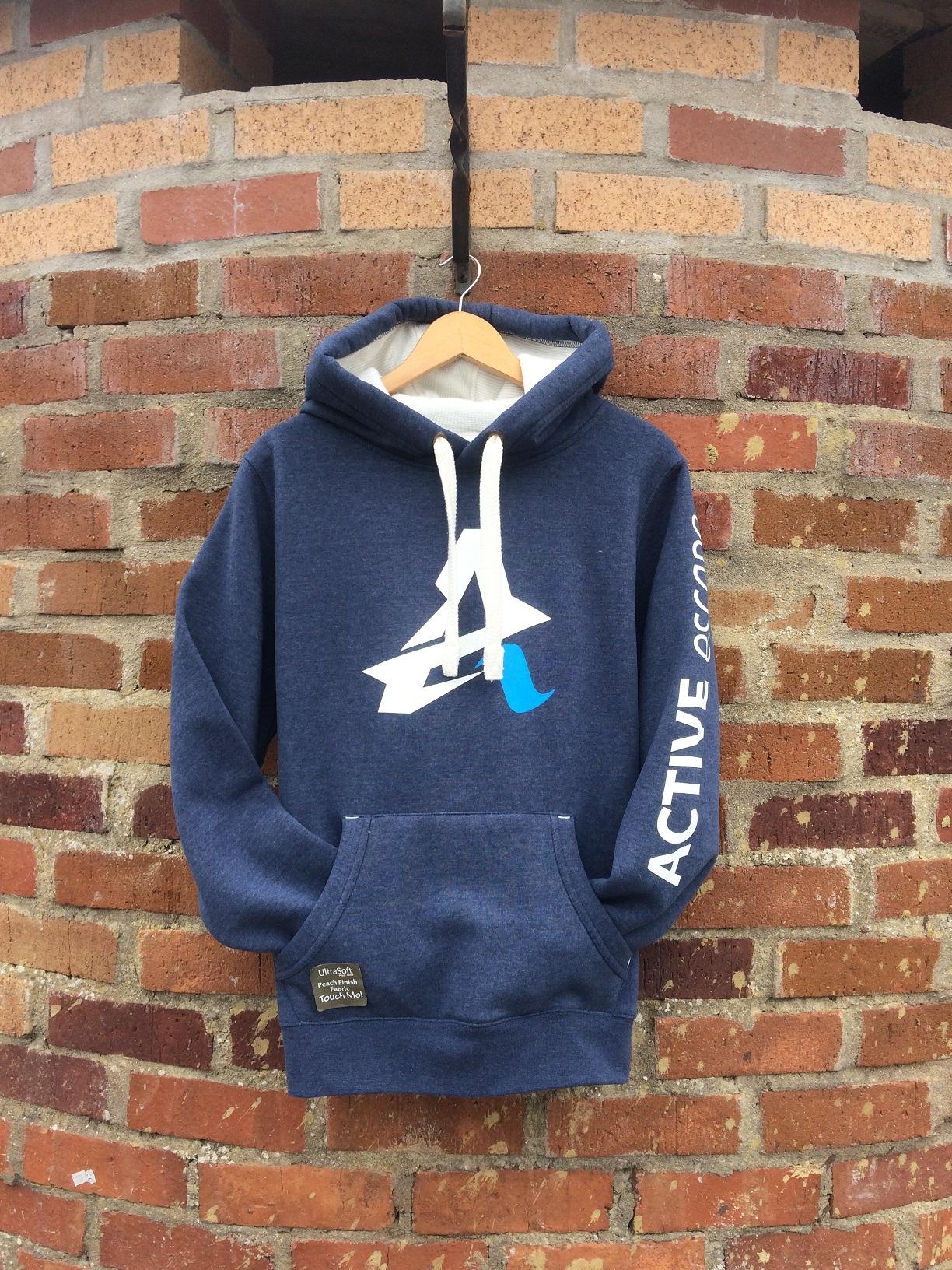 storm blue adventure hoodie active escape surf wear