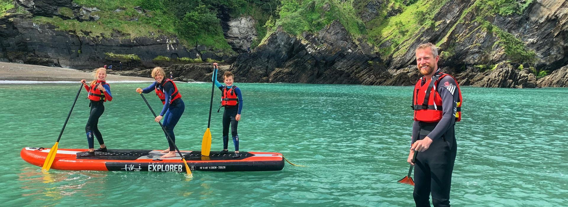 family, family holiday, north devon, things to do in devon, family activities devon, paddleboarding near me, paddleboard hire