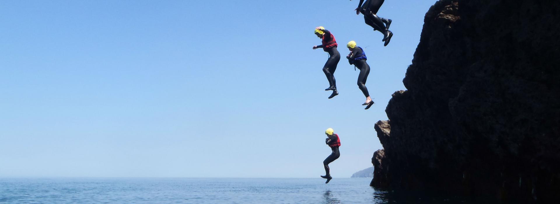 coasteering devon, coasteering north devon, things to do near me, watersports devon, activities, adrenaline activities near me