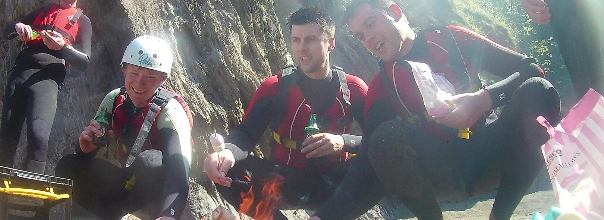 stag do ideas, beach fire, stag do devon, stag and hen, stag activities