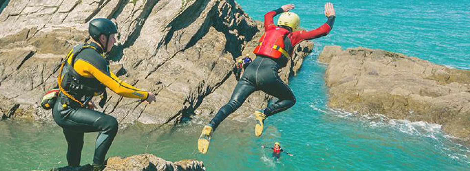Coasteering guide course
