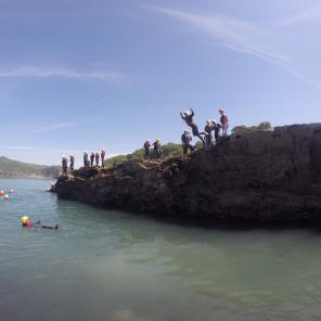 NCS, Sea, waves, watersports, school groups, kids groups