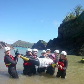 girls day out, watersports, ilfracombe, woolacombe, hen party,