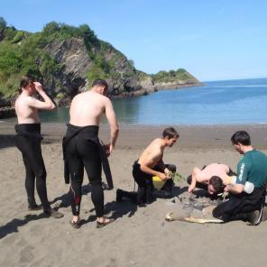 activities north devon, rafting, beach fire, relax