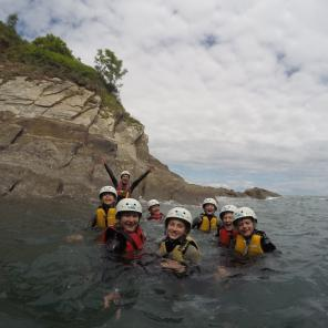 watersports north devon, things to do north devon, coasteering, family