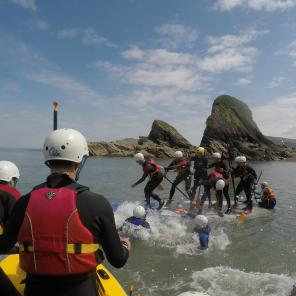 watersports north devon, things to do, group activities