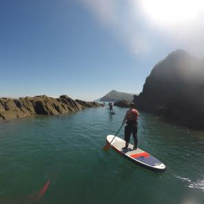 stand up paddle boarding, watersports, Ilfracombe, Combe Martin, Devon