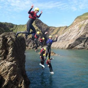 north devon, must do, watermouth, ilfracombe, coasteering