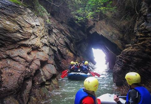 coastal rafting, caves, family activities, things to do near me