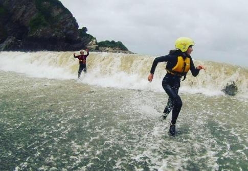 things to do near me, adrenaline activities, watersports devon, coasteering devon, family activities devon, private coasteering devon