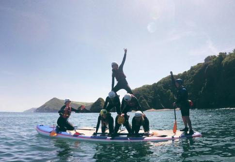 whats on, things to do in devon, paddleboarding near me, paddleboard hire, family activities near me, devon coasteering, adrenaline activities