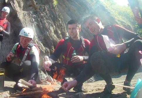 stag group, stag party devon, coasteering devon, stag packages devon, adrenaline