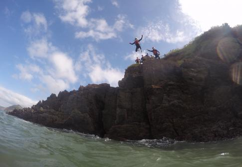 coasteering, paddleboarding, adventure, north devon, coasteering north devon, paddleboarding near me, adrenaline