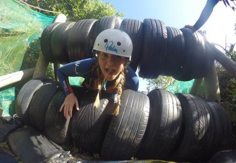 team work, family fun, friends, school groups, scouts, adrenaline, adventure, day out, North Devon