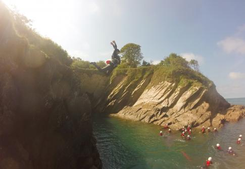 adventure, quarantine positivity, lockdown life, social distancing, things to do near me, north devon, devon coasteering, paddleboarding near me