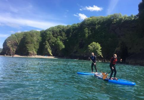 paddle board hire, paddle boarding near me, paddle boarding north devon