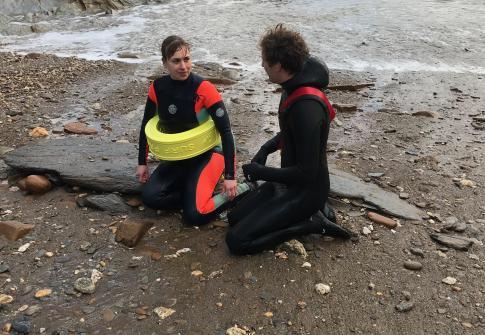 lifeguard, beach, surf, north devon, SLSGB qualifications, rescue, training, beach lifeguard courses