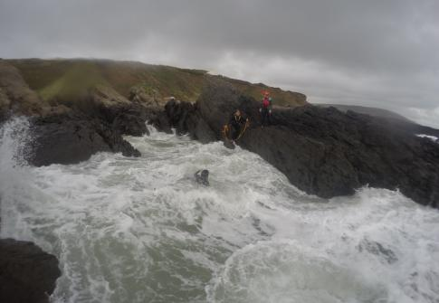 coasteering croyde, coasteering instructor course, courses, outdoor industry, qualifications