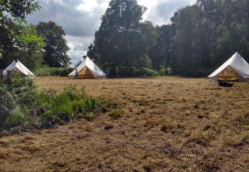 camping, school trip, residential, north devon, somerset, wild camping, glamping